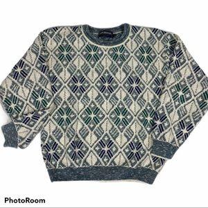 Vintage Puritan Crew Neck textured sweater